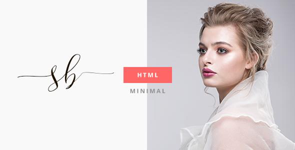 SBX - Minimal HTML5 Portfolio Template