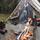 Adventurer Writting Journal by the Campfire and Vintage Tent - VideoHive Item for Sale