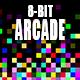 8 Bit Retro Game Logo