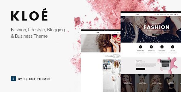 Kloe - Fashion & Lifestyle Multi-Purpose Theme