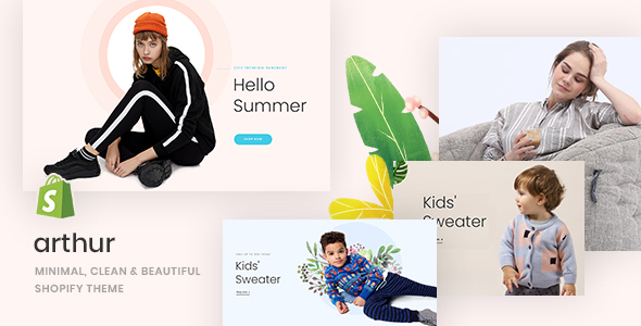 Arthur – Minimal, Clean & Beautiful Shopify Theme