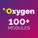 Oxygen - Multipurpose Email Set with 100+ Modules + MailChimp Editor + StampReady + Online Builder