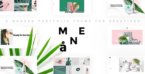 Måne - Creative Portfolio Theme
