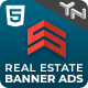 Superior Real Estate HTML5 Web Ad Banner Templates (GWD) - CodeCanyon Item for Sale