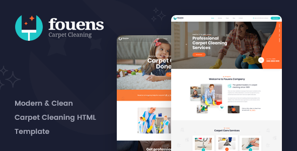 Fouens Carpet Cleaning Company Html Template