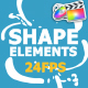 Shape Elements Pack - VideoHive Item for Sale