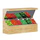 Market Shelf 3D Model - Vegetables - 3DOcean Item for Sale