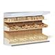 Market Shelf 3D Model - Buns - 3DOcean Item for Sale