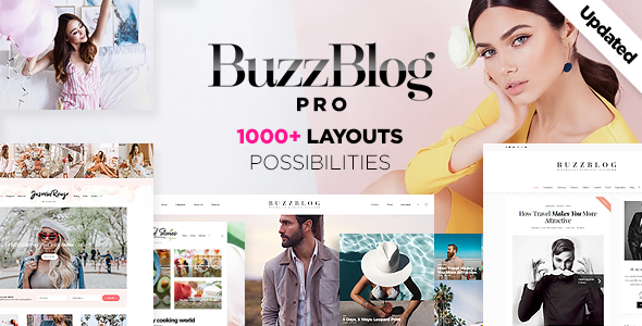 BuzzBlog – Clean and Personal WordPress Blog Theme