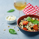 Roasted eggplant and tomato Basil orzo - PhotoDune Item for Sale