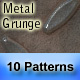 "10 ""Metal Grunge"" Seamless Patterns - GraphicRiver Item for Sale"