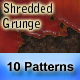 "10 ""Shredded Grunge"" Seamless Patterns - GraphicRiver Item for Sale"