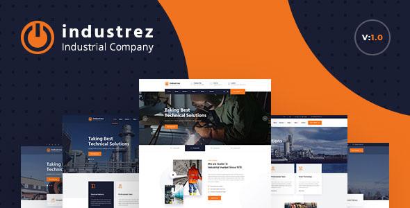 Industrez - Factory & Industrial Business HTML Template