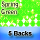 "5 ""Spring Green"" Backgrounds - GraphicRiver Item for Sale"