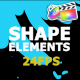 Hand Drawn Shape Elements And Transitions - VideoHive Item for Sale