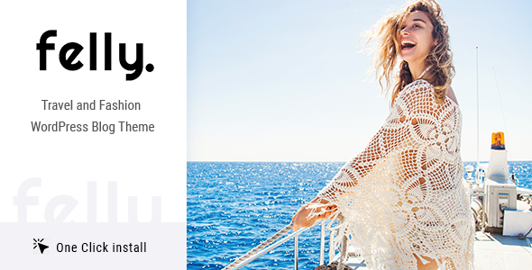 Download Felly | Travel and Fashion WordPress Blog Theme nulled 01 felly 590x300