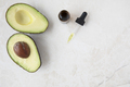 Avocados and Dropper of Oil - PhotoDune Item for Sale