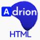 Adrion - CV / Resume Bootstrap 4 HTML Template