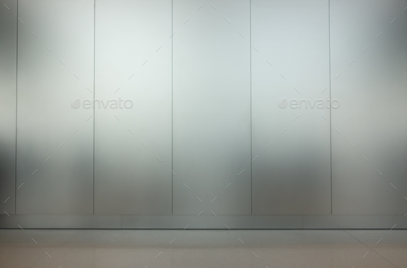 steel plate wall - Stock Photo - Images