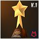 Custom Award Trophy - Loopable Pack v.01 - VideoHive Item for Sale