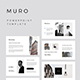 MURO - Keynote Presentation Template - GraphicRiver Item for Sale
