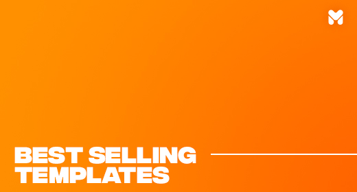Best Selling Templates