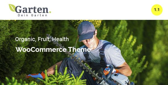 Download Garten – Farmer WooCommerce Theme nulled preview garten