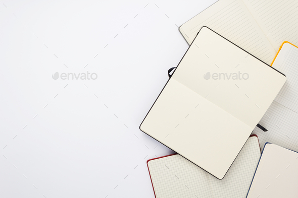 paper notebook and note pad - Stock Photo - Images