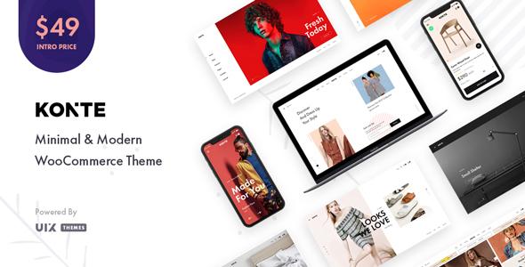 Konte – Minimal & Modern WooCommerce WordPress Theme