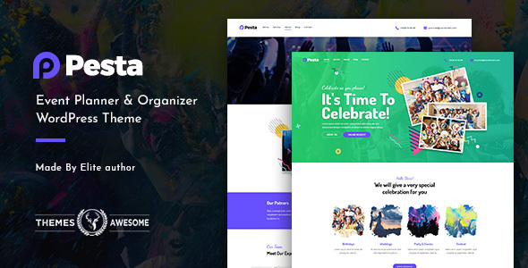 Pesta | Event Planner & Organizer WordPress Theme