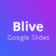 Blive Google Slide Presentation Template - GraphicRiver Item for Sale