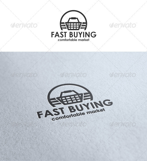 Fast Buying - Symbols Logo Templates