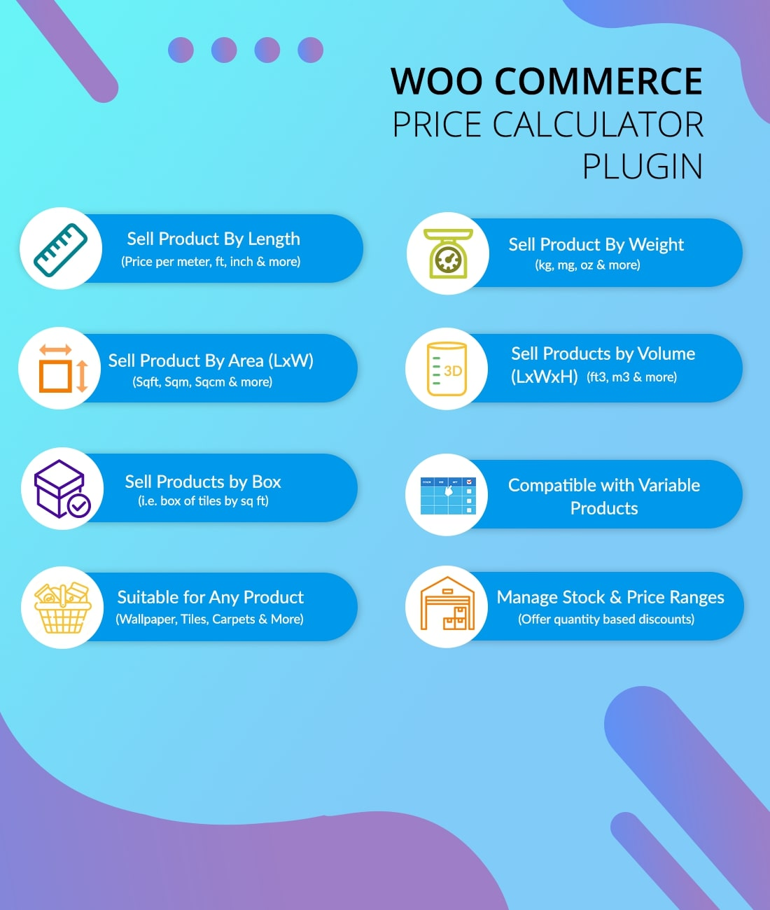 WooCommerce Measurement Price Calculator Plugin