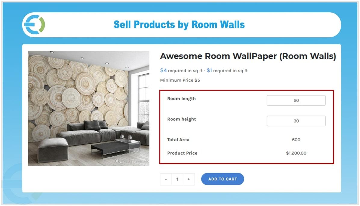 Square Foot Calculator For Wallpaper