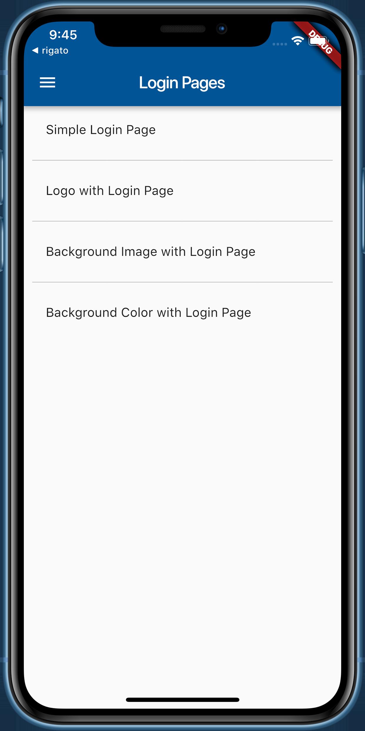 Flutter UI Component - Build App Using Material Design UI Kit