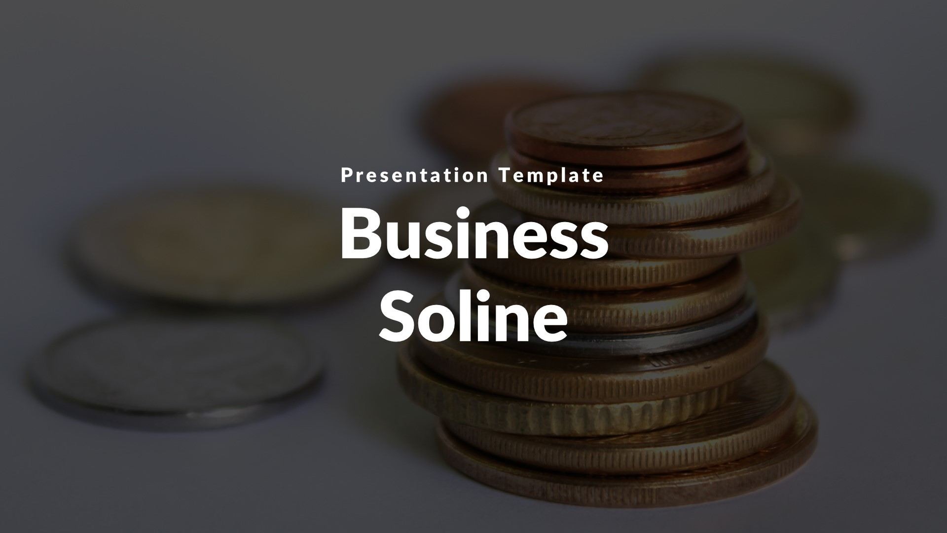 Business Soline Keynote Template