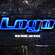 Neon Grunge Logo - VideoHive Item for Sale