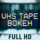 VHS Tape Noise Bokeh Pack - VideoHive Item for Sale