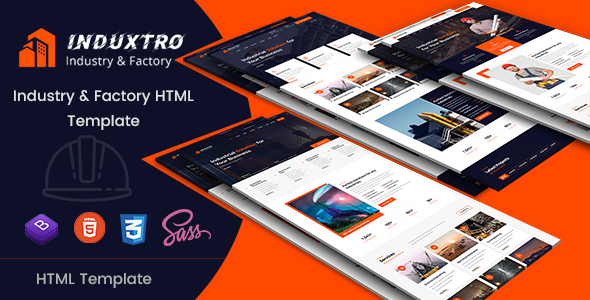 Induxtro - Industry & Factory HTML Template