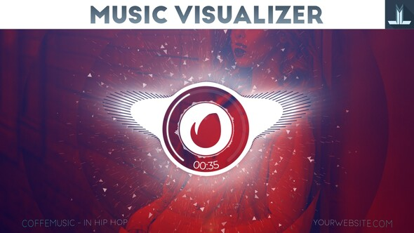 Free Download Audio React Parallax Music Visualizer