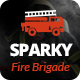 Sparky - Fire Brigade WordPress Theme