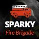 Sparky - Fire Brigade WordPress Theme