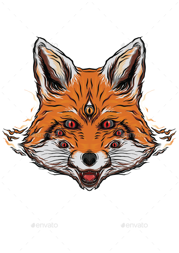 The Fox Vector Logo