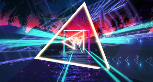 VJ Neon Retro