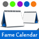 Fame Calendars - GraphicRiver Item for Sale