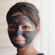 Beautiful woman with facial mask - PhotoDune Item for Sale