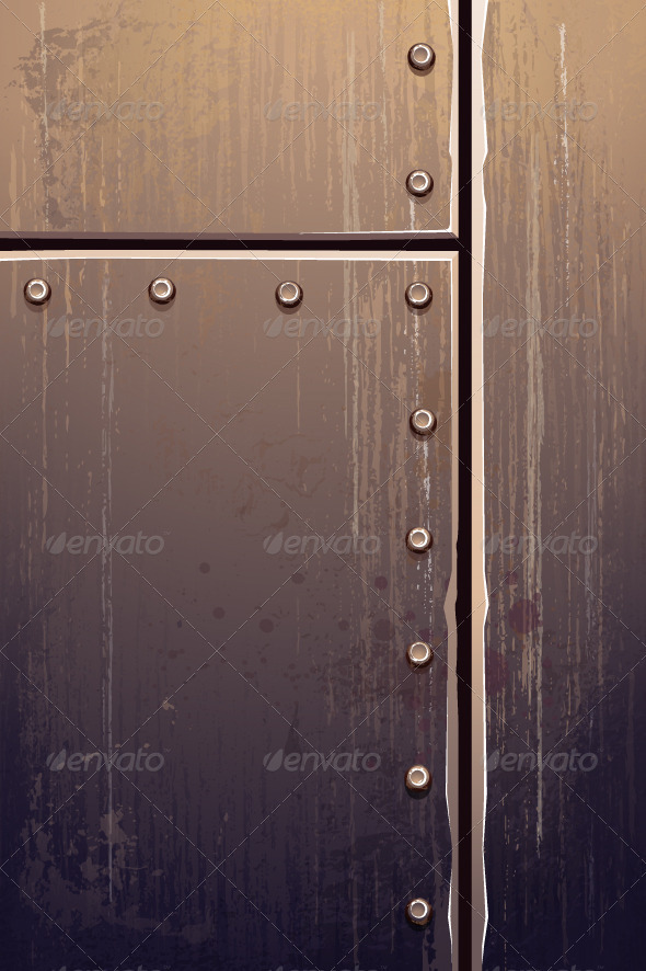Grungy Metal - Backgrounds Decorative