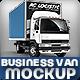 Truck Mock-Up LCV Business Van City Delivery - GraphicRiver Item for Sale