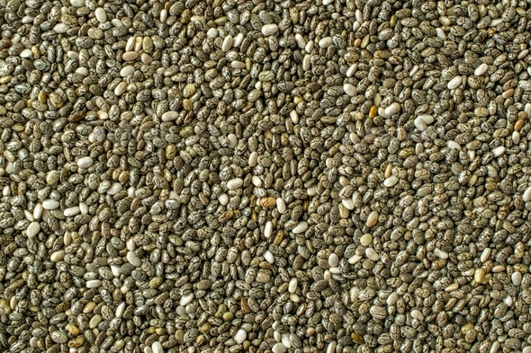 Chia Seeds Background - Stock Photo - Images