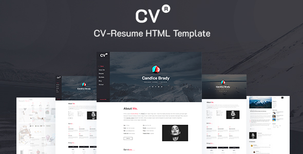 CVR- CV-Resume Template